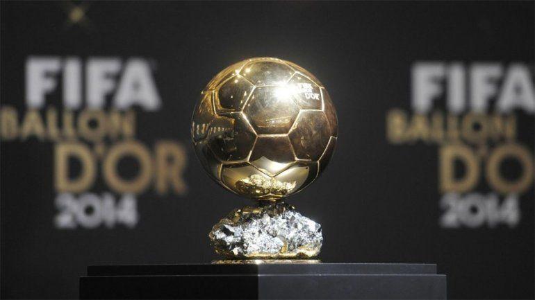Con Messi, ya están los 30 nominados para el Balón de Oro