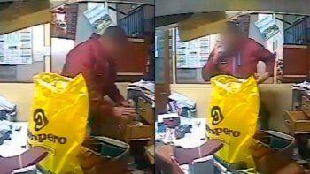 policia fue a un local por una denuncia y termino robando