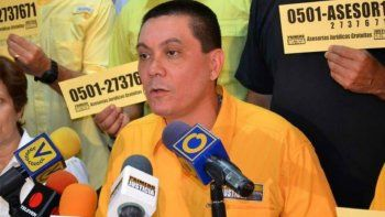 Según la Fiscalía, Fernando Albán se suicidó este lunes.