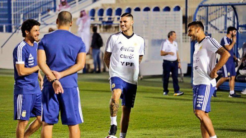 Mauro Icardi sería el 9 de Argentina ante Irak en Arabia Saudita.