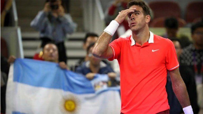 Delpo pasó a tercera ronda del ATP 1000 de Shanghai