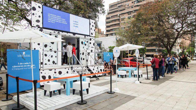 Cáncer de piel: realizarán chequeos gratuitos de lunares en el Parque Central