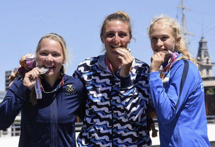 Llegó la primera medalla de oro para Argentina en los Juegos Olímpicos de la Juventud