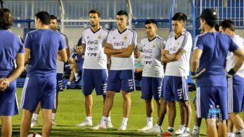 scaloni confirmo a romero para el partido de argentina frente a irak