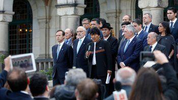 Evo Morales invitó a Chile a reiniciar el diálogo