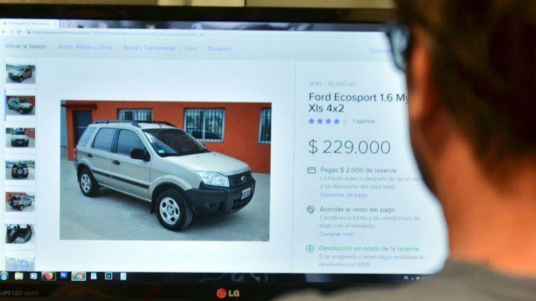 Nueva modalidad para estafar con la venta de autos