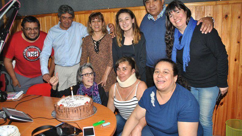 El intendente Zúñiga festejó en la radio