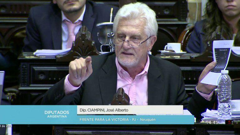 Ciampini cuestionó el acuerdo contra los paros