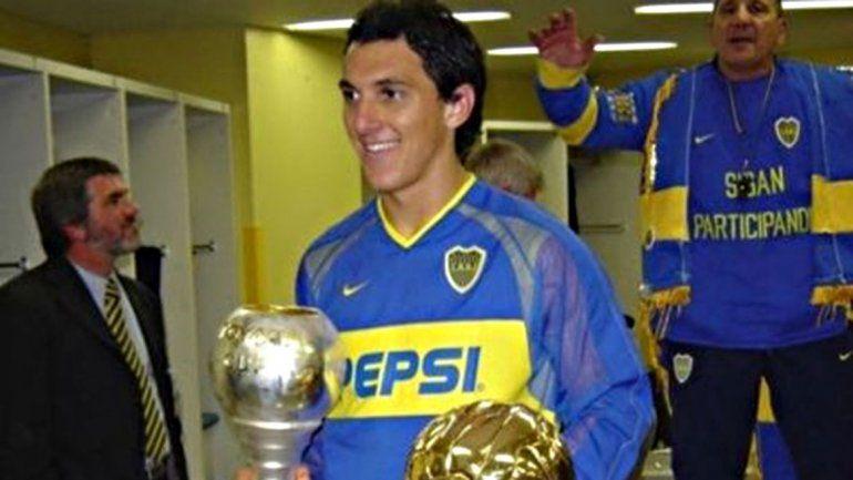 Nico Burdisso fue figura en el Boca de Carlos Bianchi.