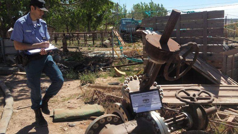 La Policía recuperó herramientas valuadas en 500 mil pesos robadas a YPF en Lomitas
