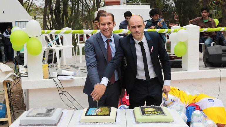 Centenario festejó sus 96 años y recibió anuncio de obras