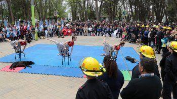 centenario festeja su cumple con un desfile y actividades