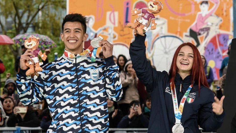Broly, el orense que logró medalla de  plata en break dance