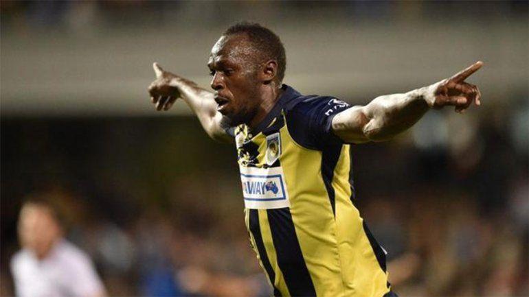 Usain Bolt facturó por dos en las redes en el fútbol profesional de Australia