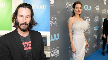 La relación secreta de Angelina con Keanu Reeves