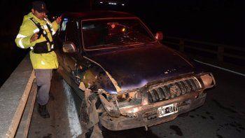 ocho personas hospitalizadas tras dos accidentes sobre la ruta 40