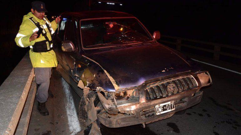 Noche accidentada en Junín: ocho personas fueron hospitalizadas tras dos accidentes