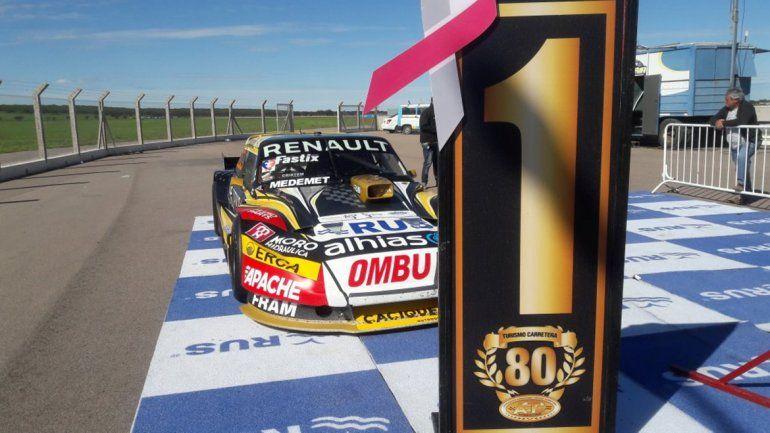 Rossi fue el más rápido en Toay: Urcera va desde el sexto lugar