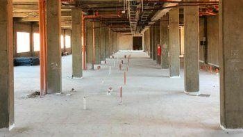 la ampliacion del hospital de zapala va tomando forma
