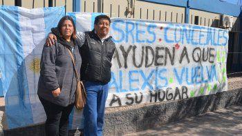 rincon: concejales piden la restitucion del pequeno alexis