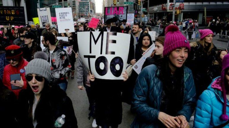 Violan a una chica #MeToo