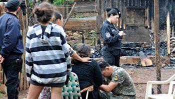 tragedia: mueren dos nenas al incendiarse una casa