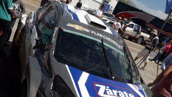 Nalbandian volcó otra vez en el rally de Entre Ríos