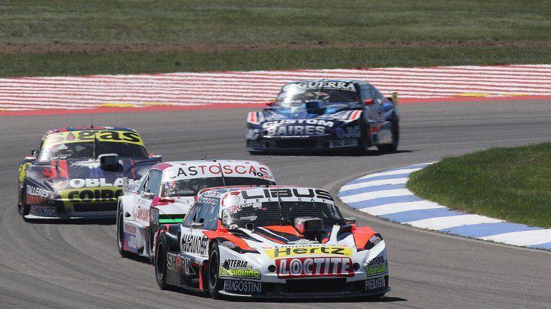 Juan Cruz Benvenuti perdió la punta de la carrera pero no la del campeonato