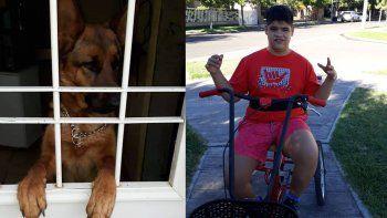 piden que devuelvan a la perra de un joven autista