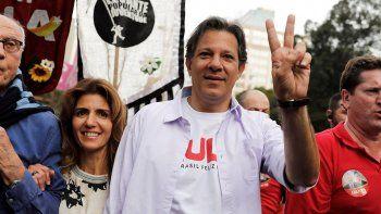 Haddad visitaba semanalmente a Lula, preso desde el 7 de abril.