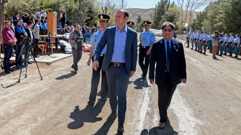 Gutiérrez entregó aportes a Chorriaca