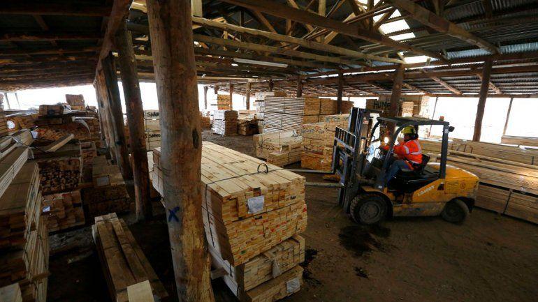 Corfone provee materia prima para la construcción en la provincia.