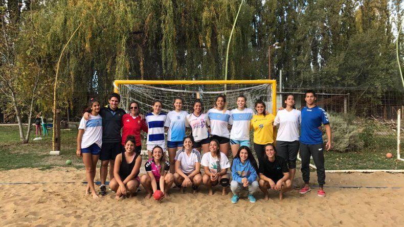 Se viene un  boom local del beach handball