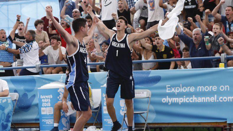 Básquet 3x3: Argentina logró la medalla de oro