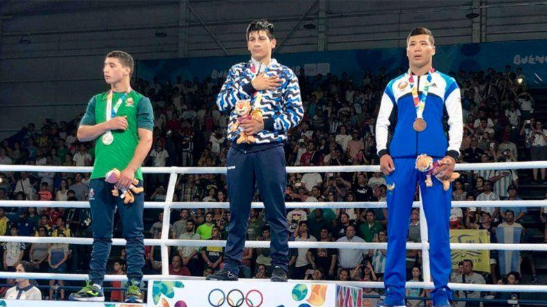 Brian Arregui, el boxeador de oro que sueña con un techo para su familia