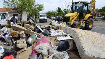 operativos de limpieza cubriran el 100% de los barrios