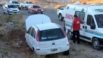 los automovilistas no respetan ni el paso de las ambulancias del sien