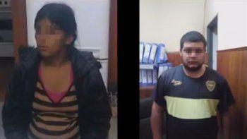 Leonela y Fabián, tíos de Sheila, confesaron el crimen.