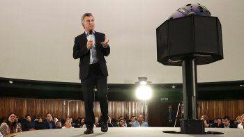 El mensaje de Macri, entre otros, fue dirigido a los docentes.