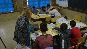 pese al paro, evaluaron a los alumnos de sexto grado