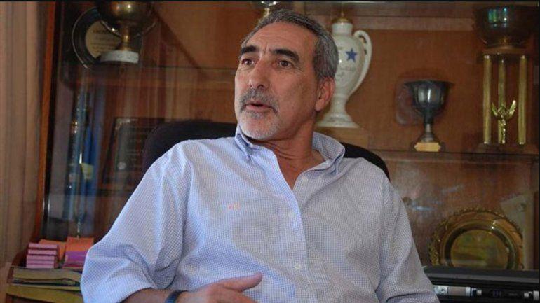 Jorge Escaris, del Deportivo Roca, tuvo un dramático relato. No ve otra salida.