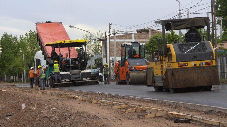 Metrobús: por las lluvias, postergan los trabajos hasta el lunes