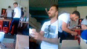 viral: mira al delantero de river que atiende una parrilla