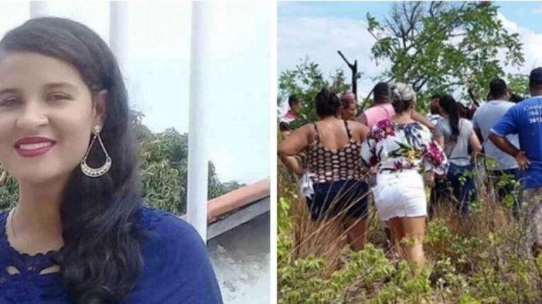 Horror en Brasil: mató a una embarazada y le quitó el bebé de 8 meses de gestación