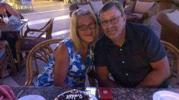 le devolvieron los restos de su marido sin organos