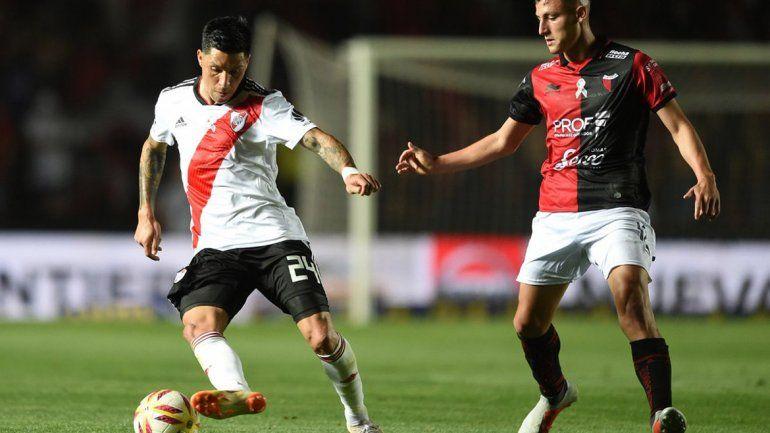 Se terminó una buena racha: Colón le ganó 1 a 0 a River