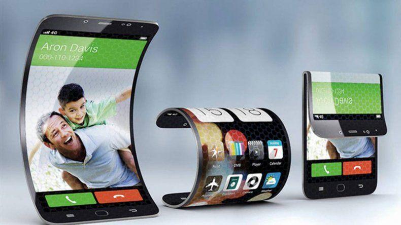 Pantallas flexibles, lo que se viene en celulares