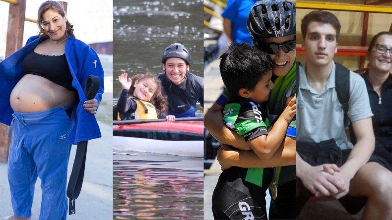 Mamá coraje: cuatro casos ejemplares en el deporte