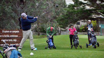 Actividad en Comahue Golf Club.