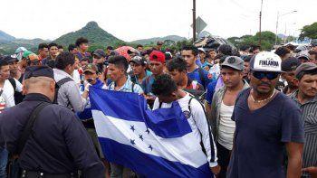 a pesar de trump, sigue la migracion hondurena a mexico